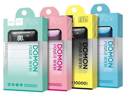 Внешний аккумулятор B29 10000 Domon Power Bank Черный