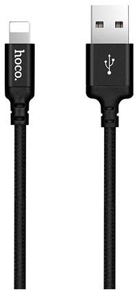 Кабель X14 Times speed Apple 1M Быстрая зарядка  Черный