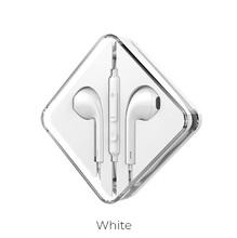Наушники M55 Memory sound с микрофоном Белые