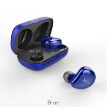 Беспроводная гарнитура ES25 Easy talk с зарядным чехлом Синие