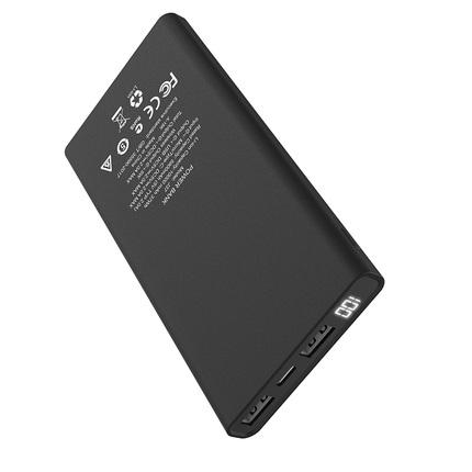 Внешний аккумулятор J37 Wisdom 10000mAh с беспроводной зарядкой Черный