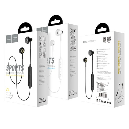 Беспроводные наушники Bluetooth ES21 Wonderful sports Черные