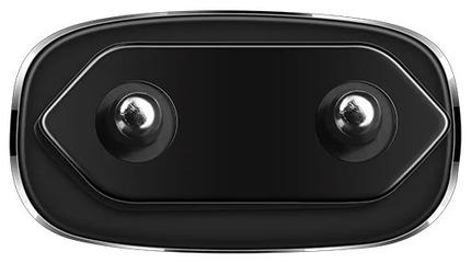 Зарядное устройства C12 Smart с двумя USB портами на Apple Черный