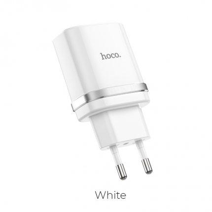 Зарядное устройство С12 Быстрая зарядка QC3.0 Белый