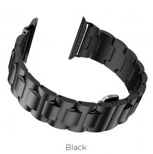 Ремешок для Apple Watch стальной 44мм Черный