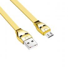 Кабель U14 Steel man micro стильный Золотой