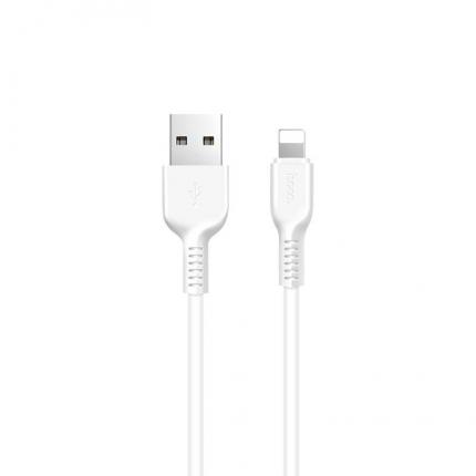 Кабель X20 Flash Lightning 2M с двумя USB портами Белый